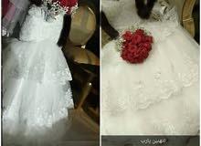 فستان زفاف اخو الجديد