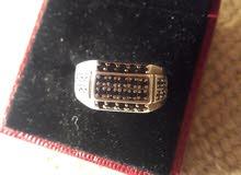 للبيع خاتم تفصيل ايطالي مقاس 22