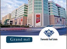 2 bhk flat with balcony in grand mall for 550