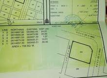 الدهس ارض سكنيه  كورنر رقم الارض 233 قريب المسجد وممتازه الارض على شارع رئيسي