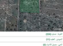 قطعه أرض للبيع في  عجلون  مطله باتجاه  النعيمه   ومستويه قرب جامعه عجلون