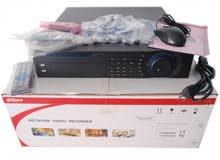 جهاز تسجيل 64 قناة شركة dahua موديل NVR 7864 يقبل ذاكرة حتى 32 تيرا ومداخل eSATA