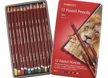 Pastel Derwent Tin Pencils 12