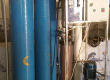 محطة ماء RO للبيع مستعملة 500لتر