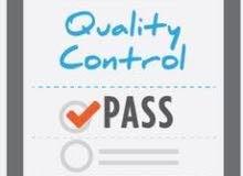 دورة  QUALITY CONTROL