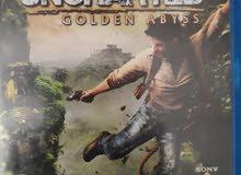 UNCHARTED GOLDEN ABYSS بحالة جيدة للبيع
