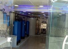 محطة مياه صحيه للبيع
