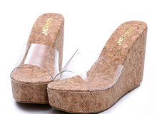 creamy shoes