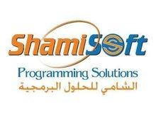 مطلوب موظف تطوير وبرمجة وتصميم مواقع الكترونية خبرة عامين للعمل في شركة شامي سوفت