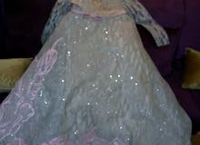 فستان جميل وملكي ومستعمل ليله واحدة من لبنان تصميم الي صعب.