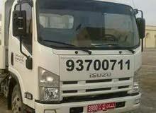 ايسوزو شاحنة قلابه للبيع موديل 2013 بحاله جيده