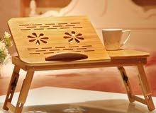 طاولة خشبية فاخره للابتوب خصم وتوصيل مجاني