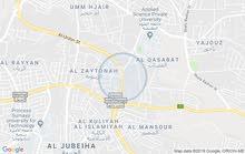 أرض مميزة جداُ للبيع مساحة دونم و24م / ابو نصير _ شارع الاردن