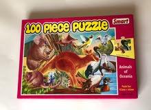 100 Animal Puzzle