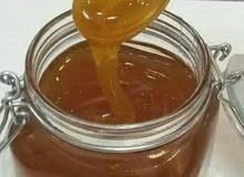 للبيع عسل يمني  سدر ملكي جبلي طبيعي