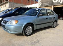 Blue Hyundai Accent 2005 for sale