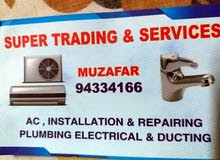 A.C & Ducting work
