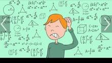 معلم رياضيات يقدم دروس خصوصية في مادة الرياضيات.