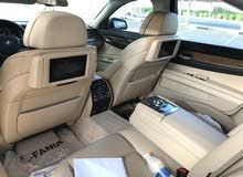 BMW 740 2009 For sale - Grey color
