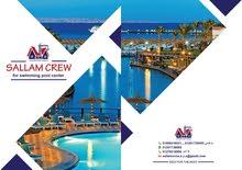 sallam crew لأنشاء وصيانة حمامات السباحة