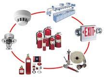تنفيذ جميع انظمه مكافحه الحريق المبكر لجميع المنشات والمبانى (معتمدون من الدفاع المدنى)