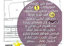 للبيع ارض سكني تجاري في المويهات عجمان