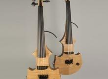 كمان الكتريك للبيع جديد صوت جميل صناعه مصريه ادوات امريكي violin electric
