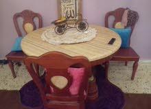 طاولة اكل ايطالية مع اربعه كراسي
