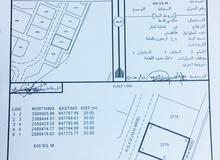 مباشرة من المالك أرض في مدينة النهضة مربع 7/1  مستوية قابلة للتمديد ما بعيدة عن الشارع