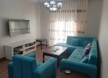 شقة مفروشه للايجارالسنوي في دار غبار- 100 م - فخمة جدا