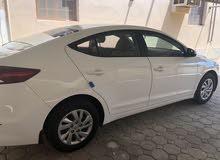 White Hyundai Elantra 2016 for sale