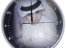 ساعات يد وساعات حايط جدارية  بالصورة الشخصية