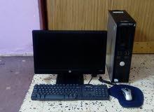 كمبيوترمكتبى.DELL.بلشاشة.