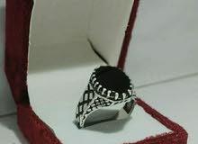 أجمل خاتم الروقان حجر اونيكس اصلي