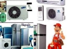 Ac,Fridge Sale,Services,Gas Filling,Hot Air,Clean,All Problem Solved