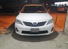 Toyota Corolla 2012 model for sale.