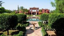 أرض فلاحية محفظة زائد سكن فاخر بالمملكة المغربية