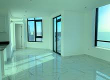 للإيجار شقة حديثة في مبنى جديد غرفتين مع حمامين و صالة وبلكونة ومطبخ مع إطلالة رائعة