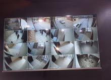 تركيب كاميرات المراقة وأجهزة الانذار