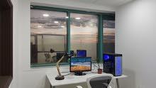مكتب مفروش بلكامل مع كامل الخدمات واصدار رخص مهن