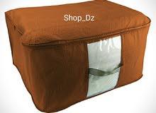 حقيبة ترتيب و تنظيم الفراش المميزة بحجم كبير تسهل و تساعد على تخزين الأغطية