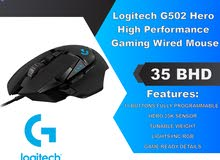 Logitech G502 Hero High Performance Gaming Wired Mouse