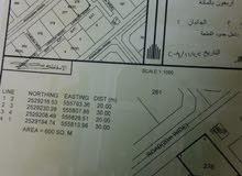 ارض سكنية للبيع حيل فرق قريب مركز الصحي فرق كورنر مفتوحه 3 جهات
