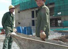 عاجل مطلوب عمال مقاولات البناء للتنازل