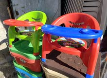 كرسي اطفال روعه نوع اول والالوان متعتده