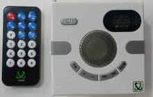 سماعة القران الكريم مع راديو ومكان لل USB