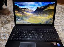 laptop lenovo g510 مستعمل وما داخل تصليح ابد