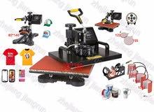 للبيع جهاز للطباعة الحرارية 10 وظائف مع الملحقات
