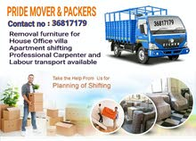 PRIDE Mover Packers Professional in moving and shifting house, flat, villa and o