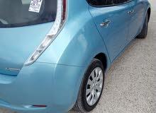 Blue Nissan Leaf 2015 for sale